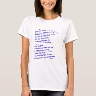 St Francis Prayer T-Shirt