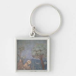 St. Francis Preaching to the Birds, 1297-99 Keychain