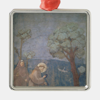 St. Francis Preaching to the Birds, 1297-99 Metal Ornament