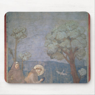 St. Francis Preaching to the Birds, 1297-99 Mouse Pad