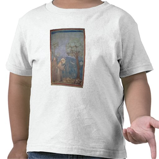 St. Francis Preaching to the Birds, 1297-99 Tshirts