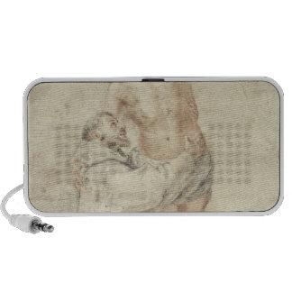 St Francis que rechaza el mundo y el abarcamiento iPod Altavoces