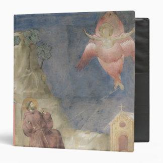 """St Francis que recibe los estigmas, 1297-99 Carpeta 1 1/2"""""""