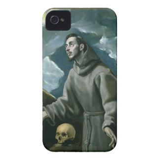 St Francis que recibe los estigmas (aceite en iPhone 4 Funda