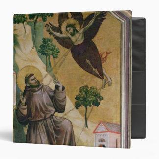 """St Francis que recibe los estigmas, c.1295-1300 Carpeta 1 1/2"""""""