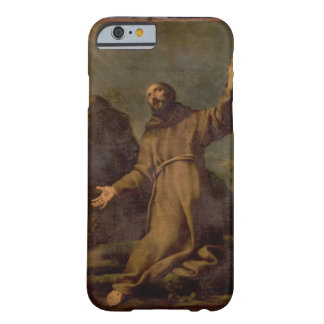 St Francis que recibe los estigmas Funda Barely There iPhone 6