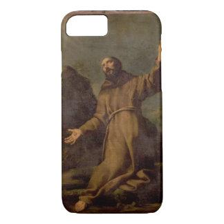 St Francis que recibe los estigmas Funda iPhone 7
