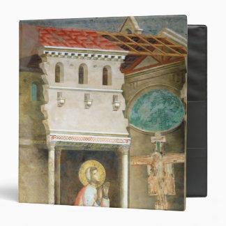 """St Francis que ruega en la iglesia de San Carpeta 1 1/2"""""""