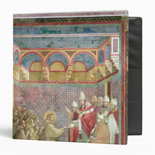 St. Francis Receives Approval 3 Ring Binders