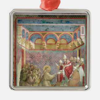 St. Francis Receives Approval Christmas Tree Ornament