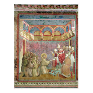 St. Francis Receives Approval Postcard