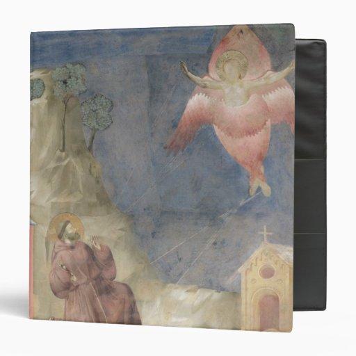 St. Francis Receiving the Stigmata, 1297-99 Vinyl Binder