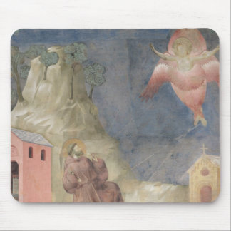 St. Francis Receiving the Stigmata, 1297-99 Mouse Pad