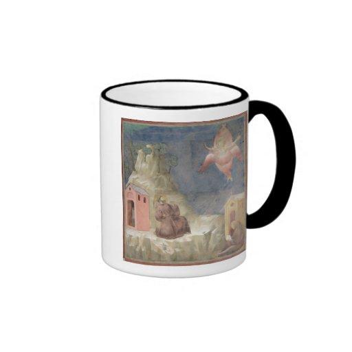 St. Francis Receiving the Stigmata, 1297-99 Coffee Mug