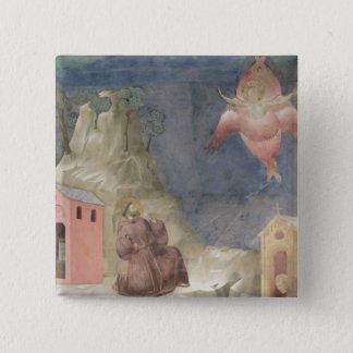 St. Francis Receiving the Stigmata, 1297-99 Pinback Button