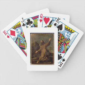 St. Francis Receiving the Stigmata Bicycle Playing Cards