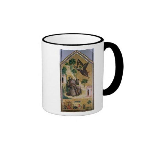 St. Francis Receiving the Stigmata, c.1295-1300 Coffee Mug