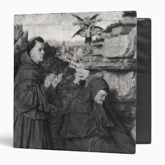 St. Francis Receiving the Stigmata, c.1427 3 Ring Binder