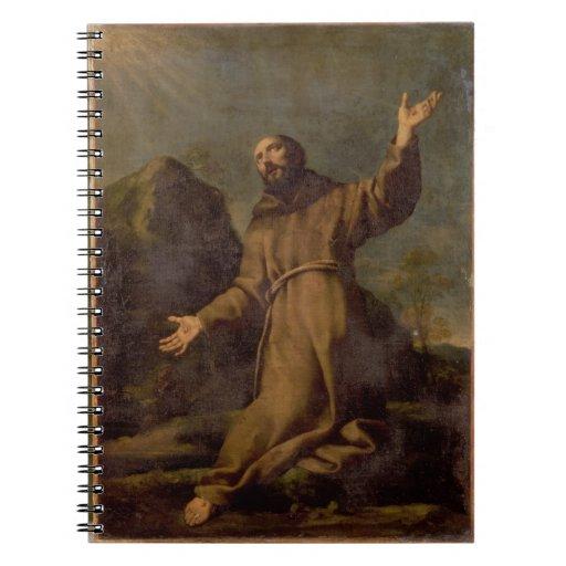 St. Francis Receiving the Stigmata Notebook