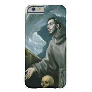 St. Francis Receiving the Stigmata (oil on canvas) Barely There iPhone 6 Case