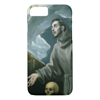 St. Francis Receiving the Stigmata (oil on canvas) iPhone 8/7 Case