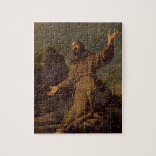 St. Francis Receiving the Stigmata Jigsaw Puzzles