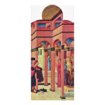 St. Francis Renounced His Earthly Father Rack Card Design