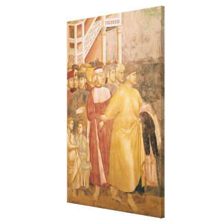 St. Francis Renounces all Worldly Goods Stretched Canvas Prints