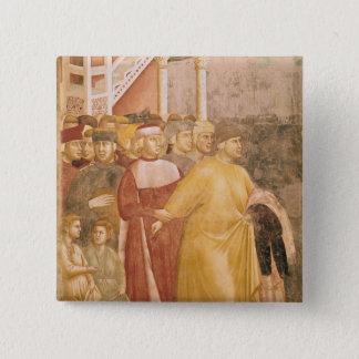 St. Francis Renounces all Worldly Goods Pinback Button