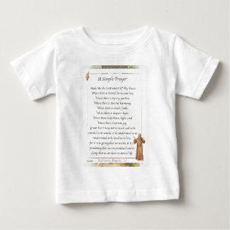 st. francis simple prayer baby T-Shirt