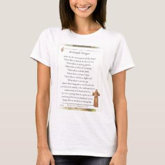 st. francis simple prayer T-Shirt