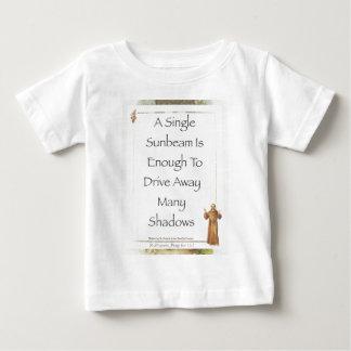 st. francis sunbeam prayer baby T-Shirt