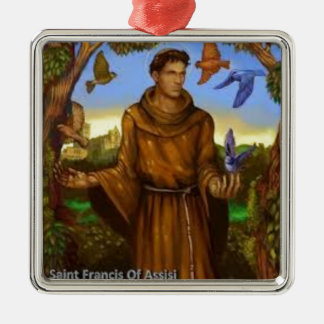 St. Francis with birds, lovely ornament or gift