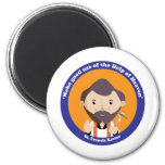 St. Francis Xavier 2 Inch Round Magnet