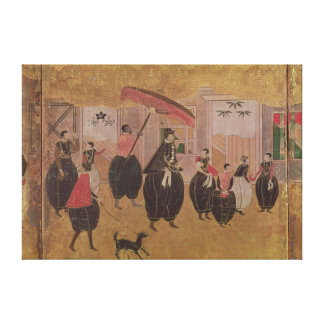 St. Francis Xavier  and his entourage Stretched Canvas Prints