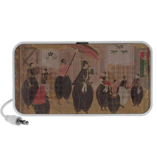 St. Francis Xavier  and his entourage Portable Speaker