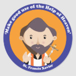 St. Francis Xavier Classic Round Sticker