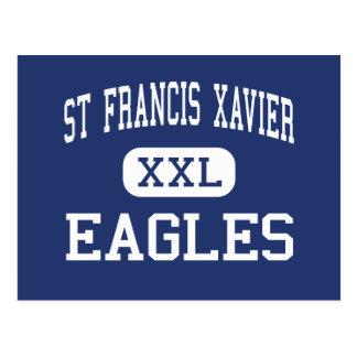 St Francis Xavier - Eagles - High - Sumter Postcard