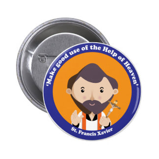 St. Francis Xavier Pinback Button
