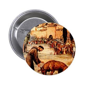 St Francis y el lobo Pins