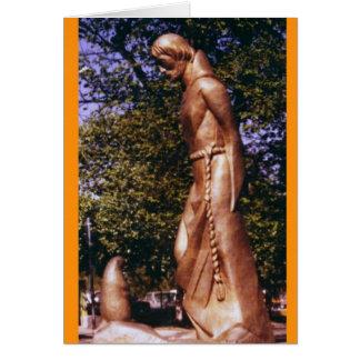 St Francis y el perro de las praderas Felicitaciones