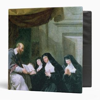 St. Francois de Sales  Giving the Rule Binder