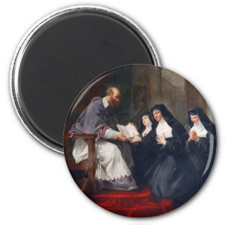St. Francoise with St. Jeanne Magnet