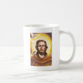 St. Franics Halo, hat, mug, pet tag, key chain etc Coffee Mug