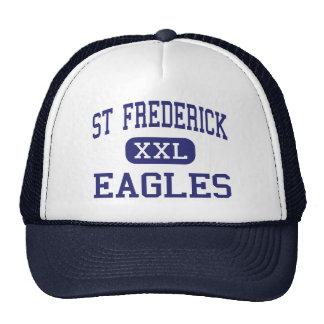 St Frederick - Eagles - High - Monroe Louisiana Trucker Hat