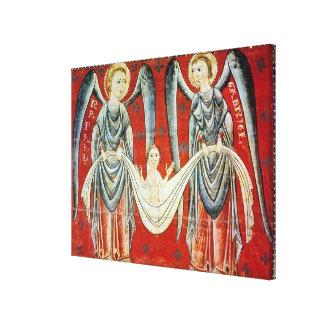St. Gabriel and St. Raphael, c.1200 Canvas Print