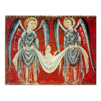 St. Gabriel and St. Raphael, c.1200 Post Card