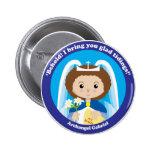 St. Gabriel the Archangel Button