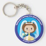 St. Gabriel the Archangel Key Chain