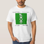St. Gallen Four Language Swiss Canton Flag Tee Shirt